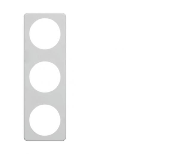 Integro Ramka 3-krotna, biały, połysk Berker 9181919