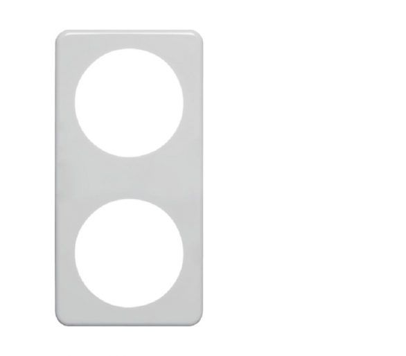 Integro Ramka 2-krotna, biały, połysk Berker 9182619