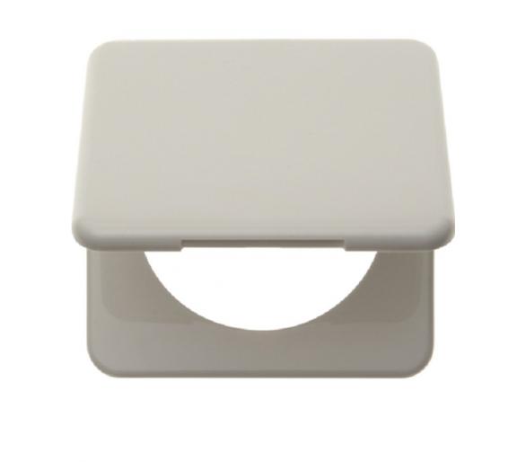 Integro Ramka 1-krotna z pokrywą, biały, połysk Berker 9182809