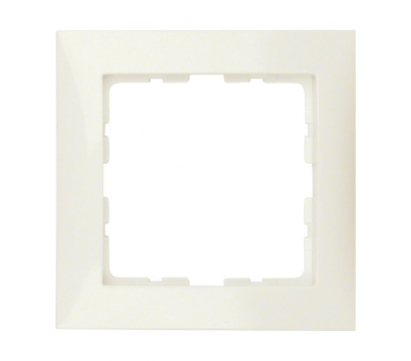 S.1 Ramka 1-krotna, kremowy, połysk Berker 10118982