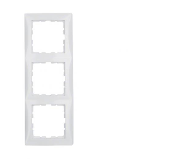 S.1 Ramka 3-krotna, biały, połysk Berker 10138989