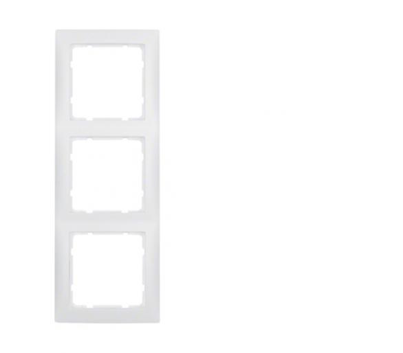 S.1 Ramka 3-krotna, biały, mat Berker 10139909