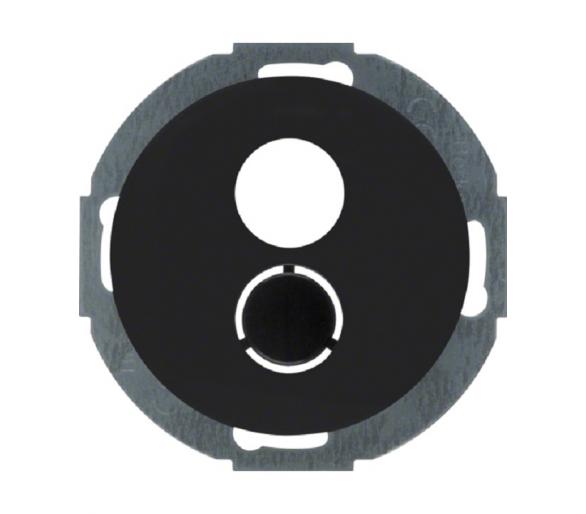 R.classic Płytka czołowa do gniazda głośnikowego cz Berker 11962035