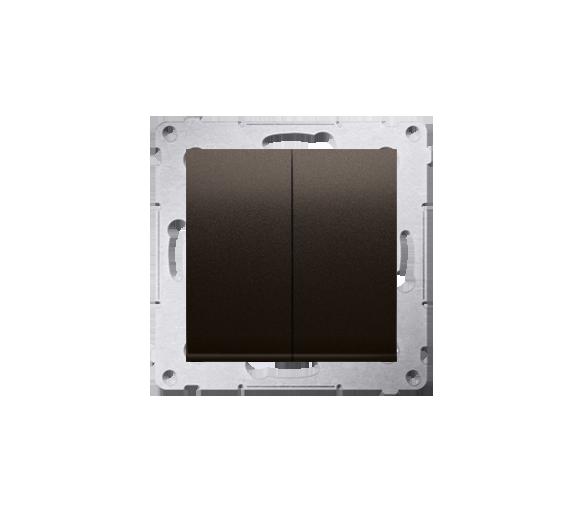 Łącznik świecznikowy (moduł) 10AX 250V, szybkozłącza, brąz mat, metalizowany DW5.01/46