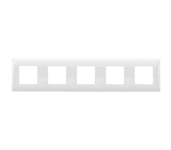 Ramka pięciokrotna biała DANTE 450485