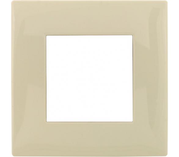 Ramka pojedyncza kremowa DANTE 450381
