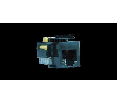 Wkład gniazda telefonicznego RJ11 Kinsun czarny RJ11