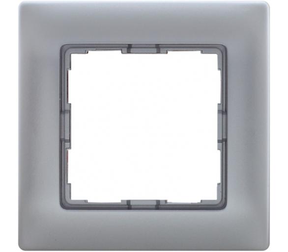 Ramka 1x aluminium VENA 514081