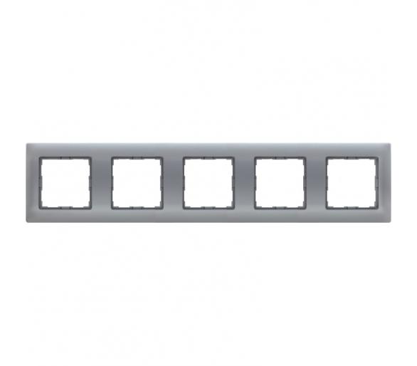 Ramka 5x aluminium VENA 514085