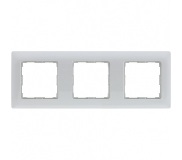 Ramka 3x biała VENA 510483