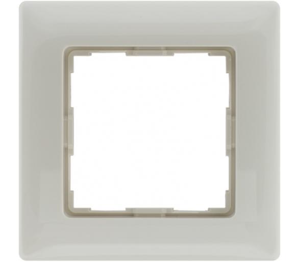 Ramka 1x kremowa VENA 510381