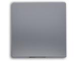 Klawisz pojedynczy aluminium VENA 514021
