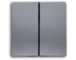 Klawisz podwójny aluminium VENA 514025