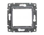 Uchwyt do instalacji modułów 45x45 z redukcją ramki aluminium VENA 514045