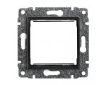 Uchwyt do instalacji modułów 45x45 z redukcją ramki antracyt VENA 516145