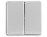 Klawisz podwójny biały VENA 510425