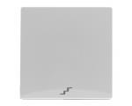 """Klawisz pojedynczy z piktogramem """"schody"""" biały VENA 510426"""