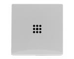 Klawisz pojedynczy z podświetleniem biały VENA 520421
