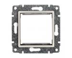 Uchwyt do instalacji modułów 45x45 z redukcją ramki kremowy VENA 510345