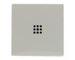 Klawisz pojedynczy z podświetleniem kremowy VENA 520321
