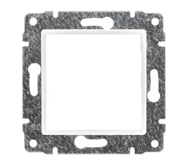 Uchwyt do instalacji modułów 45x45 z redukcją ramki śnieżna biel VENA 510245