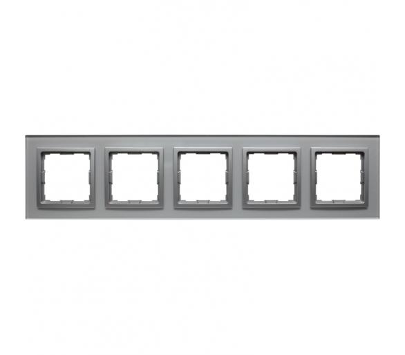 Ramka 5x srebrne szkło VENA2 XGLASS 5240185