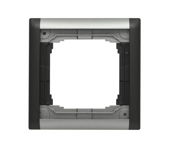 Ramka składana kolorowa x1 aluminium + grafit KOS66 PLUS 66406081