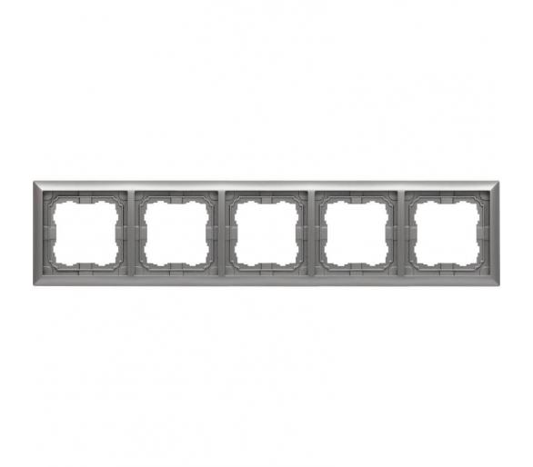 Ramka 5x aluminium KOS66 664085