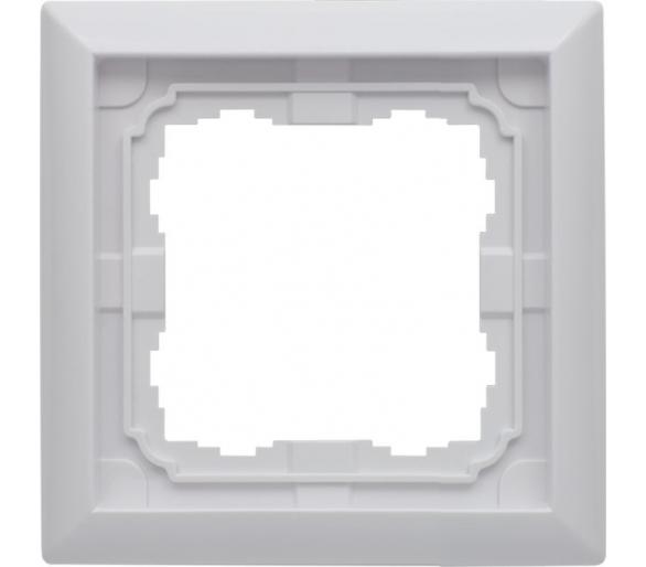 Ramka 1x biały KOS66 660481
