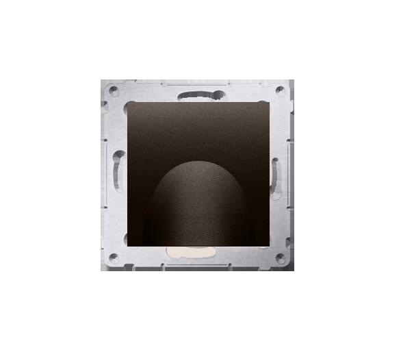 Wyjście kablowe brąz mat, metalizowany DPK1.01/46