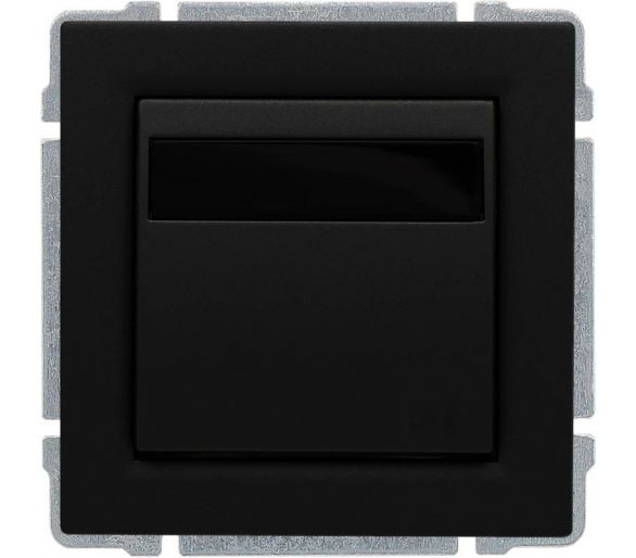 Ściemniacz LED 40-400W, sterowanie klawiszem i dowolnym pilotem, programowalny czarny KOS66 660962