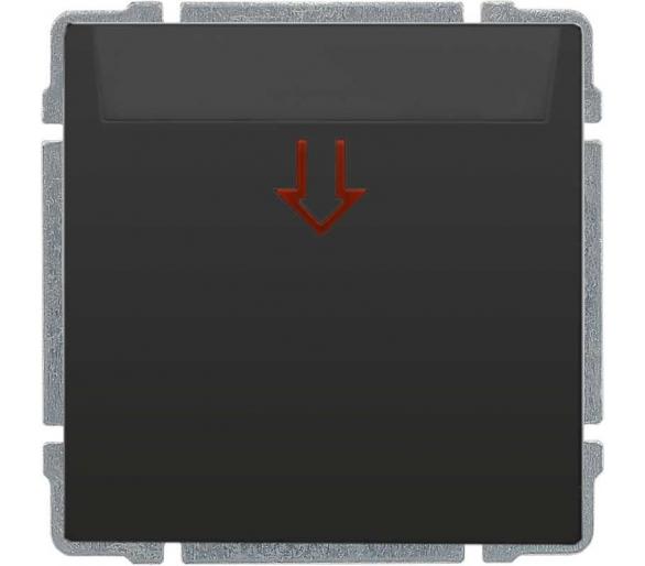 łącznik hotelowy, na kartę 54x86 mm, z 5 sek. opóźnieniem off all grafit KOS66 666060