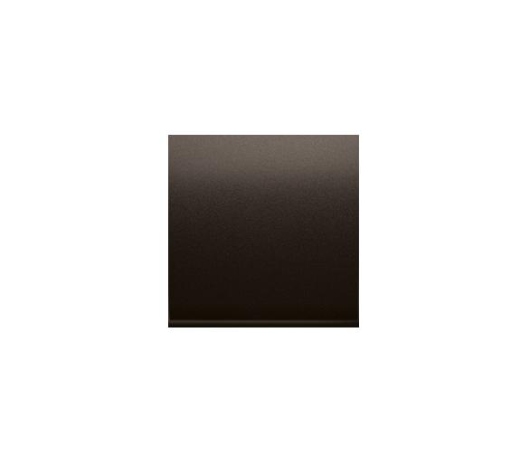 Zaślepka bez mostka brąz mat, metalizowany DP/46