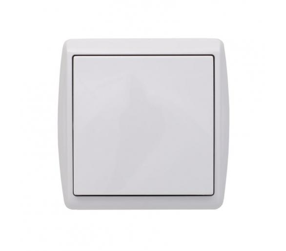 Łącznik pojedynczy biały KOS1 110401