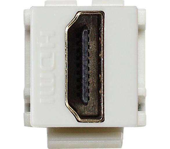Moduł Keystone - gniazdo multimedialne HDMI białe KOS45 500450