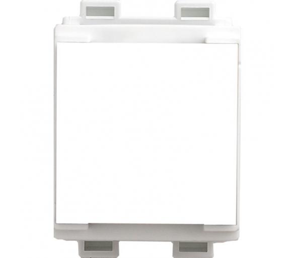 Uchwyt modułowy 45x45 na euro - szynę biały KOS45 350450