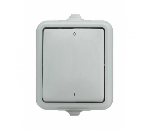 Łącznik dwubiegunowy IP44 biały HYDRO 120402