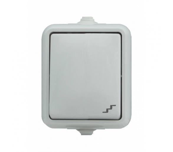 Łącznik schodowy, IP44 biały HYDRO 120406