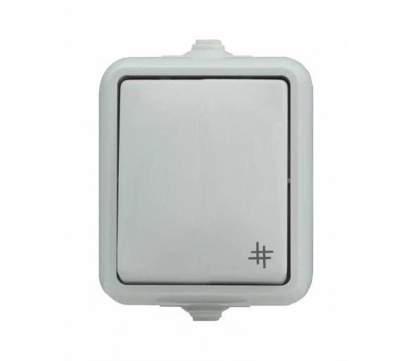 Łącznik krzyżowy, IP44 biały HYDRO 120407