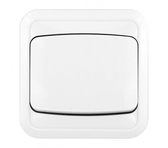 Łącznik pojedynczy biały COSMO 300401