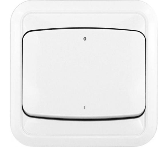 Łącznik dwubiegunowy biały COSMO 300402