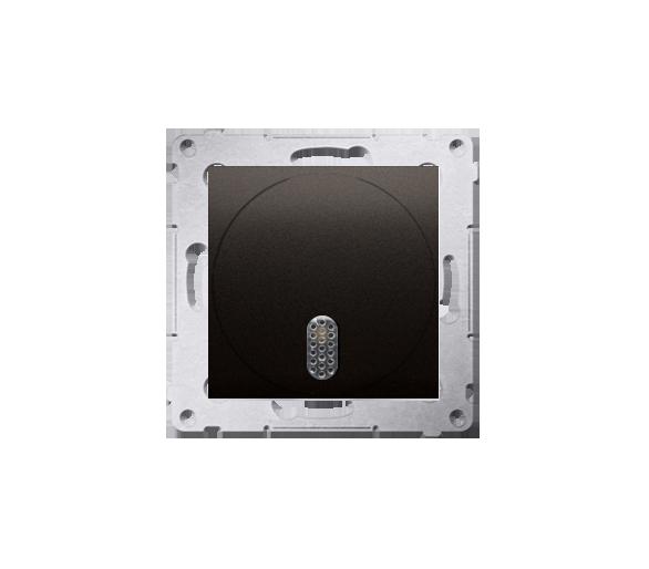 Dzwonek elektroniczny brąz mat, metalizowany DDT1.01/46