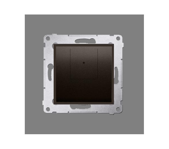 Ściemniacz dwuprzyciskowy brąz mat, metalizowany D75310.01/46