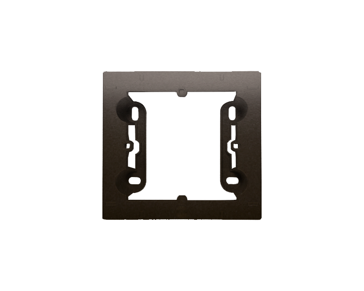 Puszka natynkowa 1-krotna brąz mat, metalizowany DPN1/46