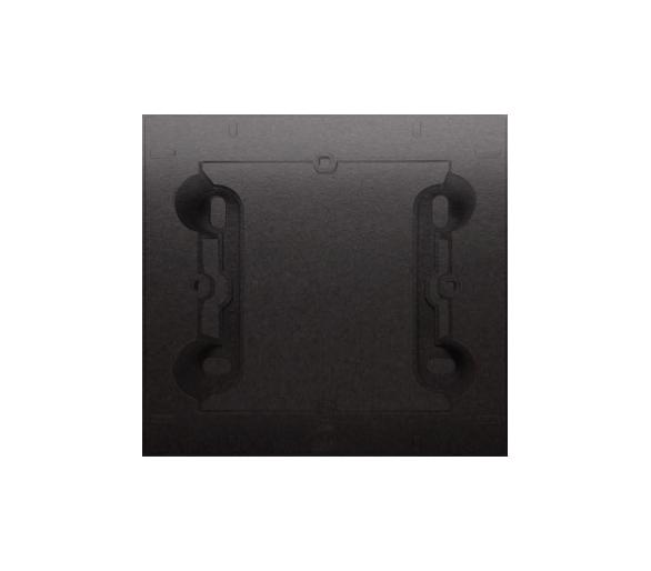 Puszka natynkowa 1-krotna do ramek PREMIUM. Głębokość 35 mm, czarny DPN1/49