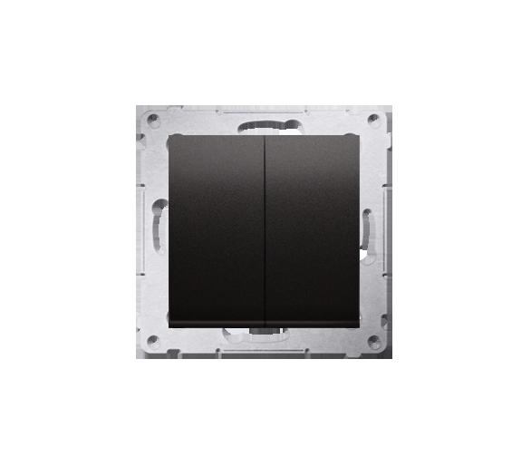Łącznik świecznikowy (moduł) 16AX, 250V, zaciski śrubowe, czarny DW5A.01/49