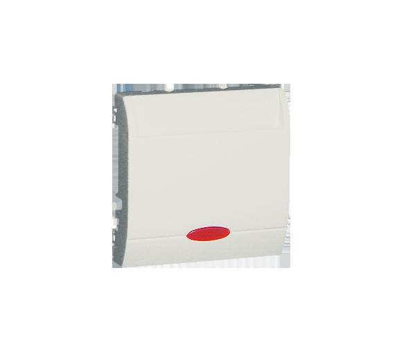 Łącznik hotelowy z podświetleniem ecru 10A 2A MWH1.02/10