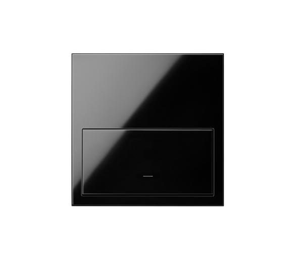 Panel 1-krotny 1 klawisz, czarny 10020101-138 Simon100