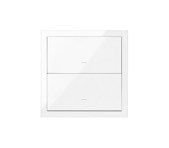 Panel 1-krotny 2 klawisze, biały 10020103-130 Simon100
