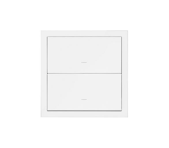 Panel 1-krotny 2 klawisze, biały mat 10020103-230 Simon100